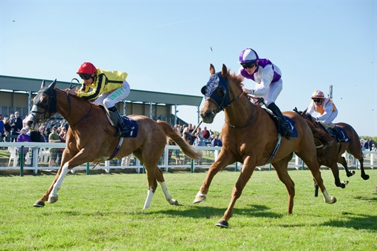 Balgair on top in Yarmouth feature