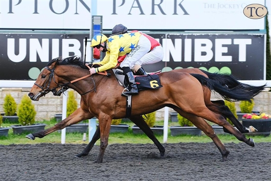 Thomas Cochrane wins at Kempton